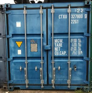 Blue Used 20ft Shipping Container