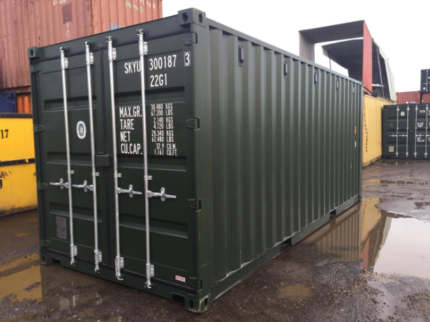 Hiring a container