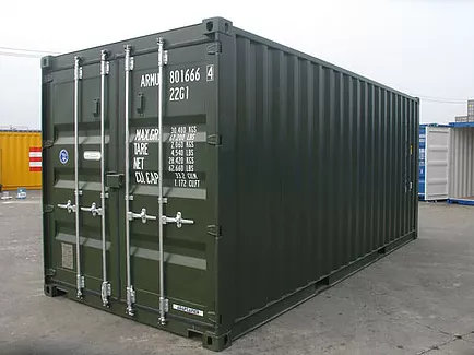 Hire a storage container